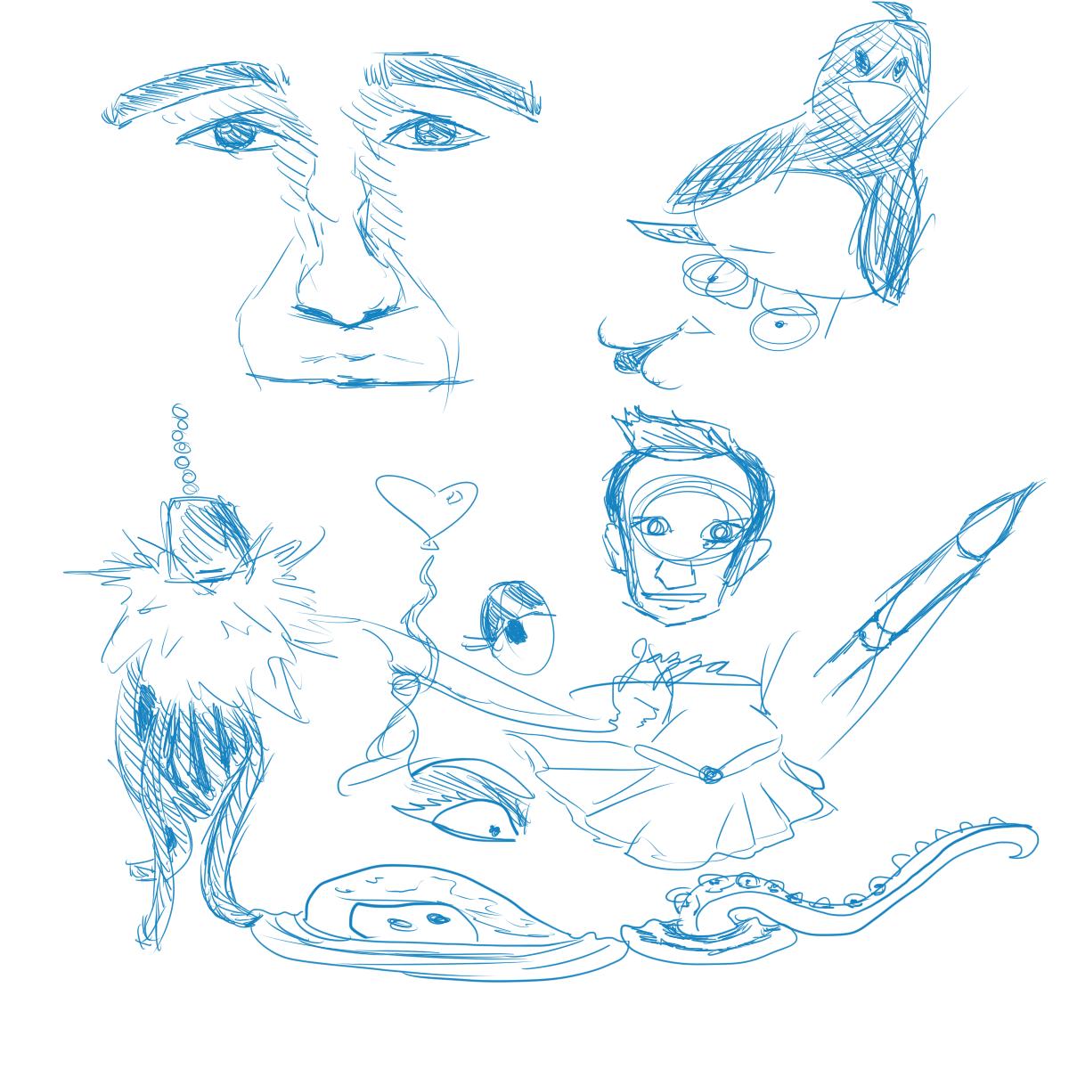 Doodles 3.29.16