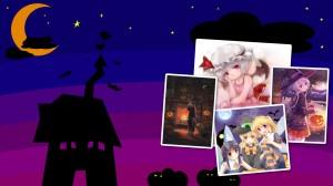 Halloween Pixiv Wallpaper, widescreen