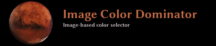 Image ColorDominator - Image Based Color Selector